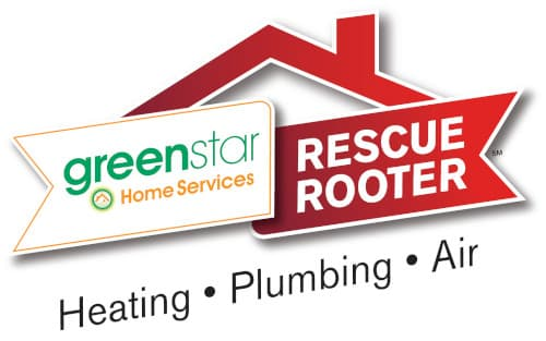 Greenstar Home Services/Rescue Rooter branch logo.