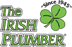 The Irish Plumber branch logo.