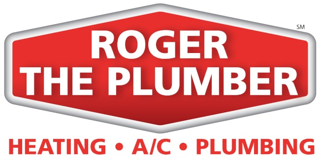 Roger the Plumber branch logo.
