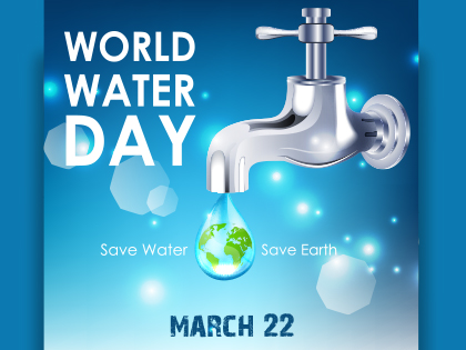 March 2016 Save During World Water Day