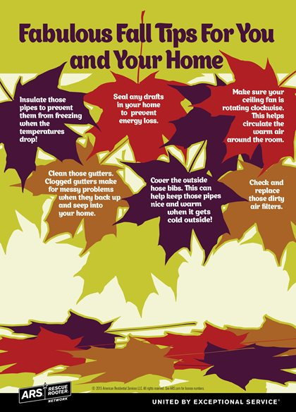 Ars Rescue Rooter Fall Home Tips