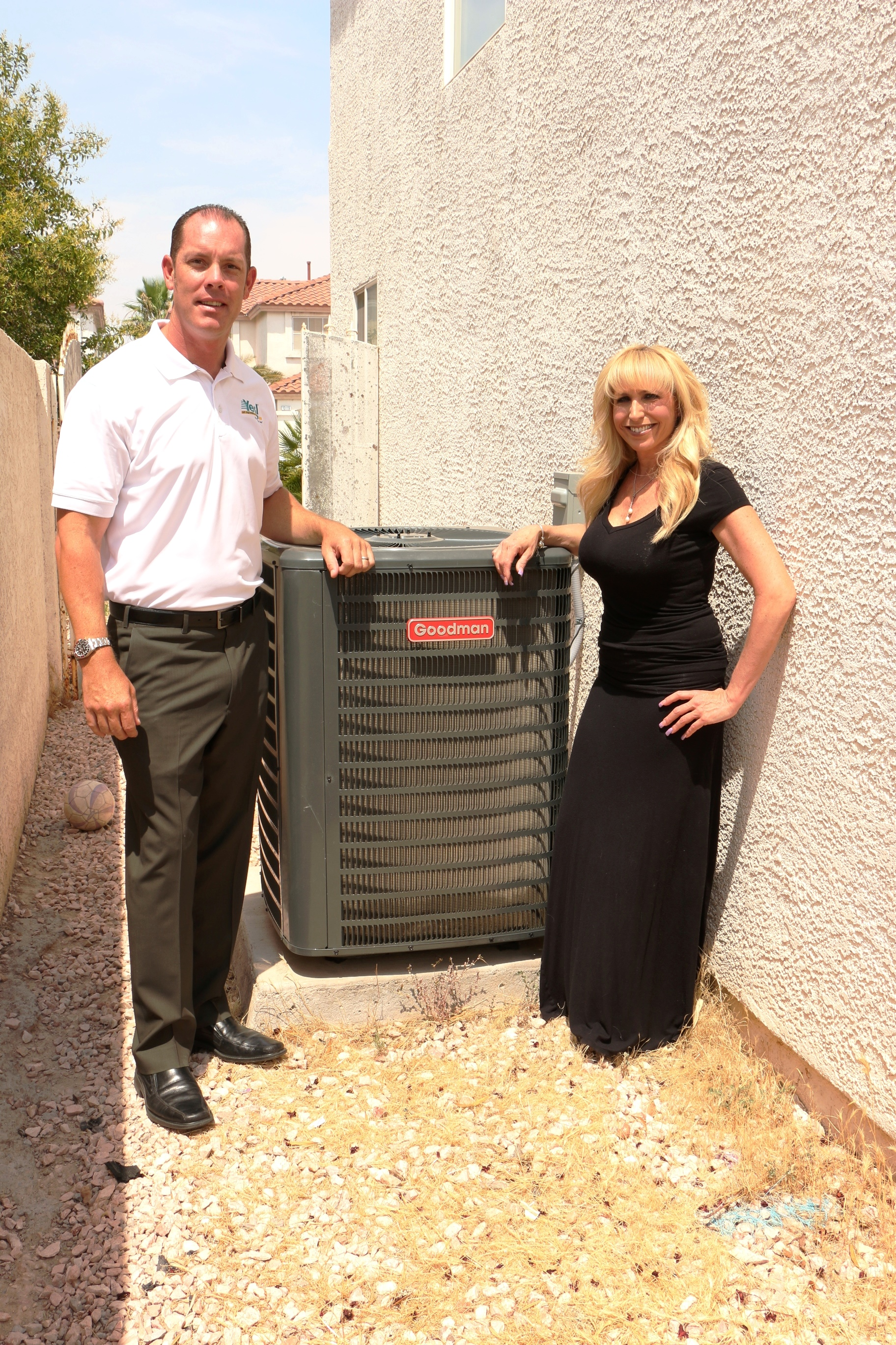 Yes Air Conditioning And Plumbing Recently Gave A Brand New Hvac System To Deserving Family In The Las Vegas Valley Area Gribbins Has Been